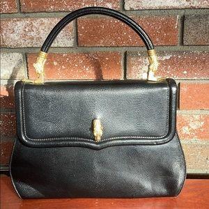 Vintage Stefano Bravo Ostrich Leather bag/purse